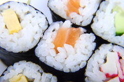 2个寿司 免版税库存图片