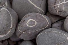 2个小卵石 免版税库存照片