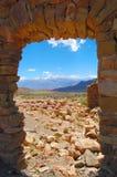 2个岩石视窗 库存图片