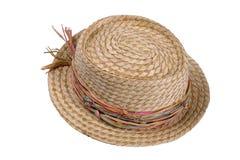 2个帽子秸杆 图库摄影