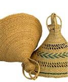 2个帽子莱索托 免版税库存照片