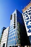 2个建筑挪威nr奥斯陆 免版税库存照片
