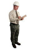 2个建筑检查员 免版税库存照片