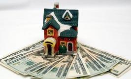 2个房子抵押 免版税库存照片