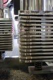 2个执行设备重量 免版税库存图片
