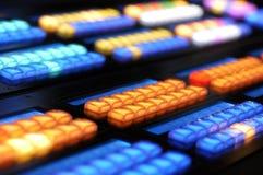 2个控制台关键字媒体 免版税库存图片