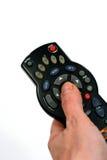 2个控制遥控 免版税库存图片