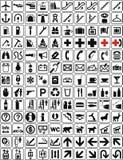 2个收集符号 免版税库存图片