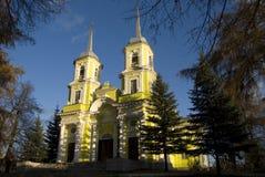 2个教会ortodox 库存照片