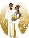 2个新娘新郎 库存图片