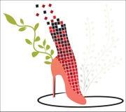 2个方式鞋子 免版税库存图片