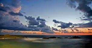 2个晚上海洋 免版税库存图片