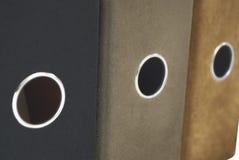 2个曲拱文件杠杆 库存照片