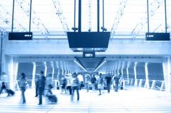 2个机场场面 免版税库存图片
