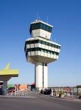 2个机场塔 库存照片