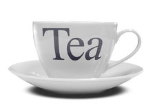 2个杯子茶 库存图片