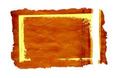 2个框架grunge羊皮纸 免版税库存照片