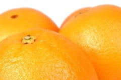 2个桔子 免版税库存照片