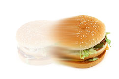 2个概念快餐 免版税库存照片