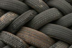 2个模式轮胎 免版税库存照片