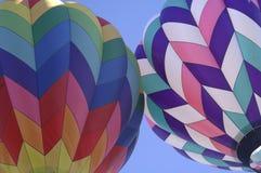 2个气球 免版税库存照片