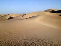 2个沙丘倒空季度 免版税库存照片