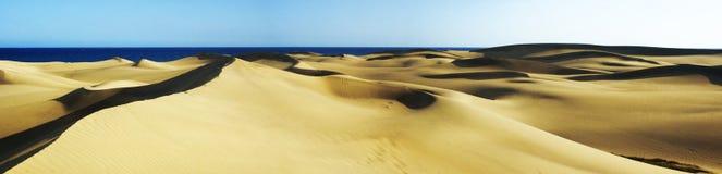 2个沙丘平底锅 免版税库存照片