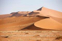 2个沙丘沙子 免版税库存图片