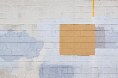 2个油漆补丁程序 库存图片