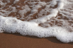 2个海滩泡沫 库存图片