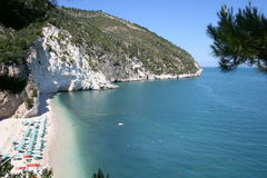 2个海滩白色 免版税库存照片