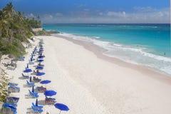 2个海滩起重机 免版税图库摄影