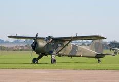 2个海狸dhc飞行运输路线 免版税库存照片