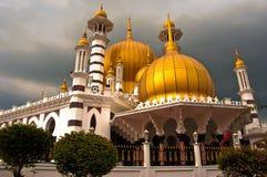 2个清真寺ubudiah 库存图片