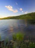 2个湖ribnicko zlatibor 免版税库存照片