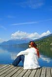 2个湖rossa 免版税库存图片
