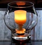 2个灼烧的杯子 库存照片