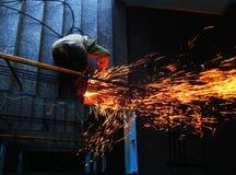 2个焊接的工作 免版税库存照片