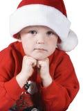 2个男孩圣诞节 库存图片