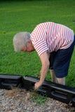 2个社区祖母服务 免版税库存图片