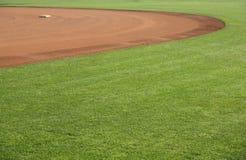 2个美国人棒球场 库存照片