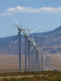 2个联盟风车 库存照片