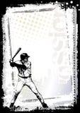 2个背景棒球 图库摄影