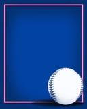 2个背景棒球 免版税库存照片