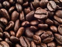 2个背景豆咖啡 免版税库存照片