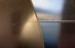 2个背景金属 免版税库存照片