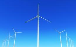 2个能源绿色 图库摄影