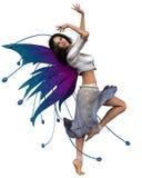 2个舞蹈演员神仙 向量例证