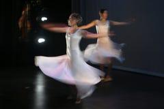 2个舞蹈演员 图库摄影