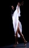 2个舞蹈黑暗 免版税库存照片